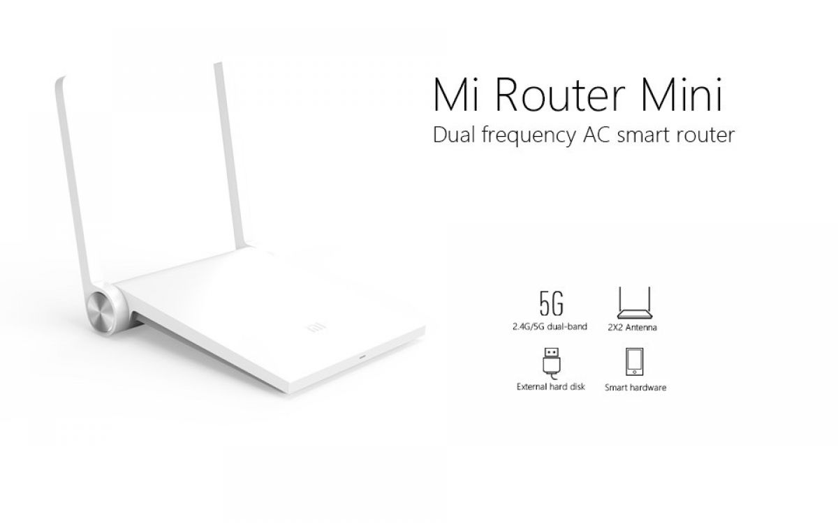 Wi-Fi Роутер Xiaomi Mi-router Mini